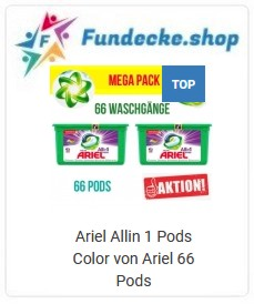 Ariel All in Pods Color Aktion 66WL