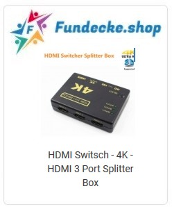HDMI 3 Port Splitter Box
