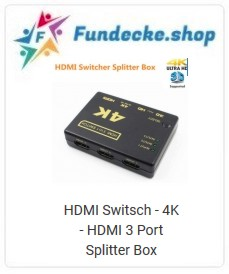 4K hdmi 3 Port Splitter