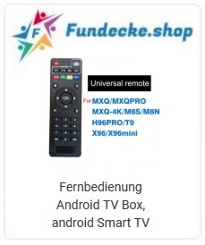 Fernbedienung Max H96 TV Box, android Smart TV
